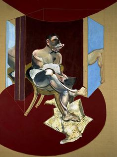 Francis Bacon. 'Study of George Dyer' 1969