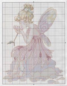 natty's cross stitch corner: fairies