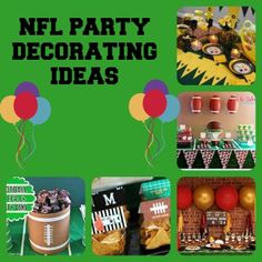 NFL Party Decorating Ideas - Coupon Hauls