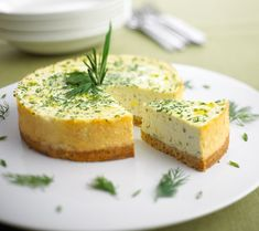 Chavrie - Herbed Cheesecake with Chavrie® Goat Cheese