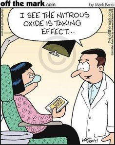 Dentaltown – I see the nitrous oxide is taking effect. Funny Nurse Quotes, Nurse Humor, Nursing Quotes, Nursing Memes, Medical Humor, Funny Sayings, Dental Assistant, Dental Hygiene, Dental Humour