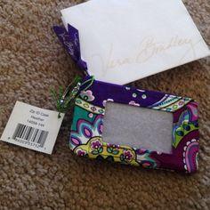 Vera Bradley Zip ID Case NWT Heather pattern zip id case Vera Bradley Accessories Key & Card Holders