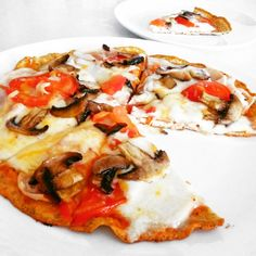 Fitness pizza bez sacharidů recept Bajola Healthy Style, Low Carb Keto, Vegetable Pizza, Food Inspiration, Paleo, Food And Drink, Health Fitness, Healthy Recipes, Eat