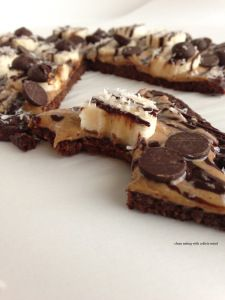 PALEO CHOCOLATE PIZZA WITH A COCOA CAULIFLOWER CRUST YOU CAN TRUST