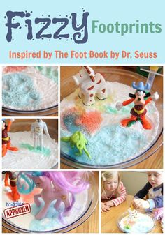 Toddler Approved!: Fizzy Footprints {Dr. Seuss Virtual Book Club Blog Hop}