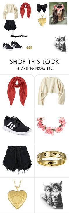 """""""Untitled #64"""" by kitty-love0168 on Polyvore featuring Chanel, Forzieri, Uniqlo, adidas, Miss Selfridge, Nobody Denim, Bling Jewelry and Fremada"""