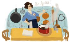 August 15, 2012 Julia Child's 100th Birthday //concept art
