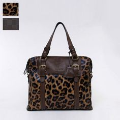 New Unisex Ostrich Print Real leather Totes Shoppers Bags handbags OUOVO HDW056