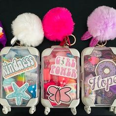Mini Things, Girly Things, Makeup Kit For Kids, Kreative Desserts, Lip Gloss Homemade, Beauty Kit, Cute Makeup, Planer, The Balm