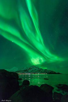 AurorasTaken byHarald Albrigtsenon March 1, 2014 @ Kvaløya, Tromsø, Norway