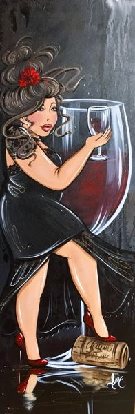 Rouge passion Renoir, Poesia Visual, Plus Size Art, Art Carte, Fat Art, Wine Art, Girls Rules, Fat Women, Big And Beautiful