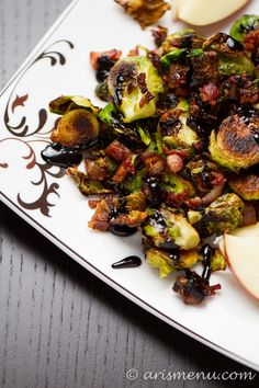 ... Vinaigrette | Recipe | Brussels, Roasted Brussels Sprouts and Dried