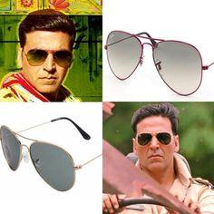 Sneak Peek into Akshay Kumar's Khiladi 786 sunglasses.     Poster+ Trailer here: http://celebglasses.in/akshay-kumars-khiladi-sunglasses/