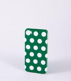 Green Polka Dot iPhone Case
