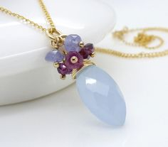 fc5376d59055a Apatite and pink tourmaline necklace