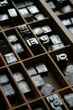 This reminds me of my grandfather's printing press.