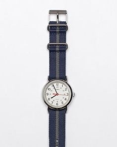 Easy read, nice strap: Timex Weekender Watch
