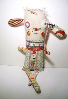 Handmade Plush Monster  Monster Nanny by JunkerJane on Etsy, $75.00