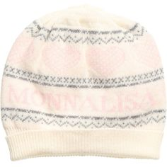 Monnalisa Baby Girls Ivory Wool & Cashmere Hat at Childrensalon.com