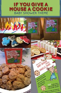 The Cutest Shower Theme For Cookie Lovers! | 8 Adorable Baby Shower Themes Inspired By Children's Books