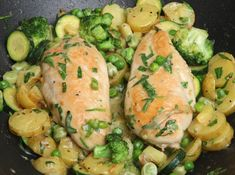 Easy & Packed With Veggies, This Chicken Tarragon Is Not To Be Missed! - Page 2 of 2 - Recipe Station Tarragon Chicken, Creamy Chicken, Garlic Chicken, Skillet Chicken, Tarragon Sauce Recipes, Mustard Chicken, Low Sodium Chicken Broth, Cooking Recipes, Healthy Recipes