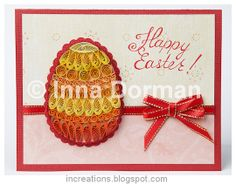 quilling easter | Quilled Easter greeting cards
