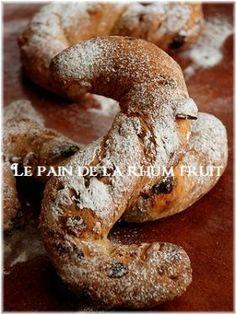 「パン・オ・ラムフリュイ」いたるんるん | お菓子・パンのレシピや作り方【corecle*コレクル】