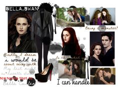 """Bella Swan as Bella Cullen"" by adhladjanir ❤ liked on Polyvore"