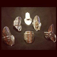 tips ringar av silverskedar