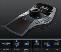 Mouse 3D Connexion SpacePilot PRO