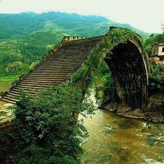 Moon Bridge in Hunan, China