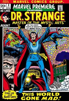 Dr. Strange look in the early 70s (1972 - Marvel Premiere #3)