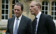 Lewis with Laurence Fox & Kevin Whately