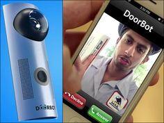 DoorBot is a Wi-Fi-enabled video doorbell that allows you to see and speak with visitors through your smartphone from anywhere in the world.