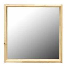Stave espejo ikea con pel cula de seguridad 70x70 as se - Espejo stave ikea ...