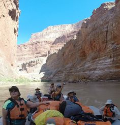 2014 Hatch Expedition rafting Colorado River thru Grand Canyon GoPro - our crew on the River