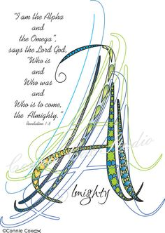 Instant Digital Download Love Lines Letter A  Abstract Doodle Drawing Calligraphy