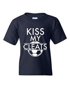 Acacia Kiss My Cleats #soccer #tshirt
