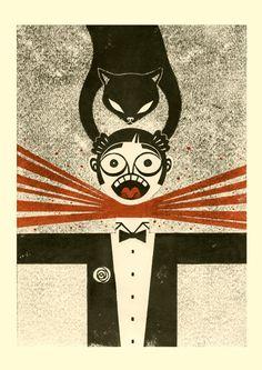 The Master and Margarita - Mikhail Bulgakov  Artwork by Iker Spozio