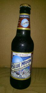 Blue Moon Gingerbread Spiced Ale - will gingerbread be the new pumpkin of spiced ales (at least in its season)?