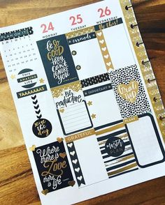I'm finally getting serious about using my Happy Planner. Love this for layout inspiration