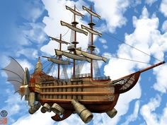 pirate ships pictures | Pirate Ship. by kuroineko on deviantART
