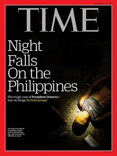 Duterte's anti-drug campaign on the cover of TIME Magazine   News   GMA News…