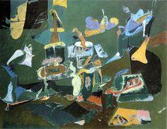 Arshile Gorky - Dark Green Painting, ca. 1948 by Jan Lombardi, via Flickr