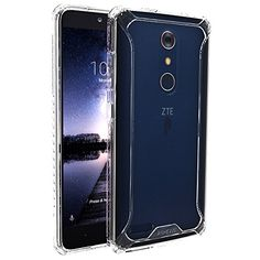 ZTE ZMAX PRO Case POETIC Affinity Series Premium ThinNo BulkSlim fitClearDual material Protective Bumper Case for ZTE ZMAX PRO 2016 ClearClear *** Find out more about the great product at the image link. (Note:Amazon affiliate link) #CellPhonesAccessories