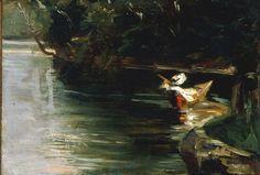 Gustave Caillebotte-Ufer des Yerres