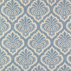 Durbar Strie-Oxford Blue  Upholstery  BR-89731-244  Brunschwig