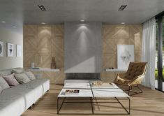 Another take on the popular timber decorative range is Luthier. 2 Decors (wall only) in 600x600mm, 2 planks in 200x1200mm, R10 finish and the Line Mix 3D decor in 300x1200mm. This range can accommodate design throughout your entire living space! Great for residential and commercial spaces in living rooms, bedrooms, bathrooms, foyers and kitchen. Timber Tiles, Tile Warehouse, Luxury Vinyl Tile Flooring, Mid Century Bathroom, Tile Suppliers, Outdoor Tiles, Cladding, Living Spaces, Living Rooms