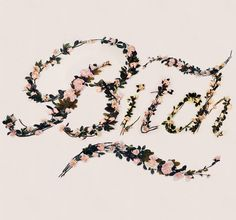 """Brazilian illustrator and designer Antonio Rodrigues Jr has spelled out several offensive words with a custom typeface made of artificial flowers for his project titled """"Better With Flowers"""". Typography Letters, Graphic Design Typography, Flower Typography, Typography Served, Chalkboard Lettering, Creative Typography, Typography Quotes, Kitsch, Offensive Words"""