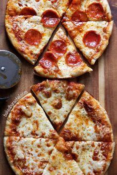 Three Cheese Pan Pizza